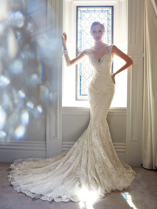 Wedding - Chic Lace Wedding Dress