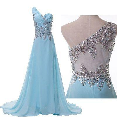 94f4a3742d3 GK Long Prom Dresses BEADED Evening Gown Bridesmaid Dress Party Maxi PLUS  SIZE