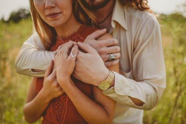 Wedding - Bohemian Scottish Engagement Photos