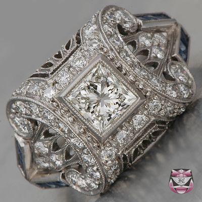 زفاف - Engagement Rings - Engagement Ring Cert. Princess H/VS