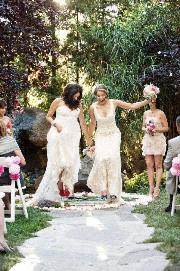 Wedding - Wedding Traditions Explained: Jumping The Broom