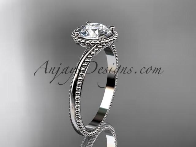 Wedding - Spring C14kt white gold wedding ring, engagement ring ADLR389ollection, Unique Diamond Engagement Rings,Engagement Sets,Birthstone Rings - 14kt white gold wedding ring