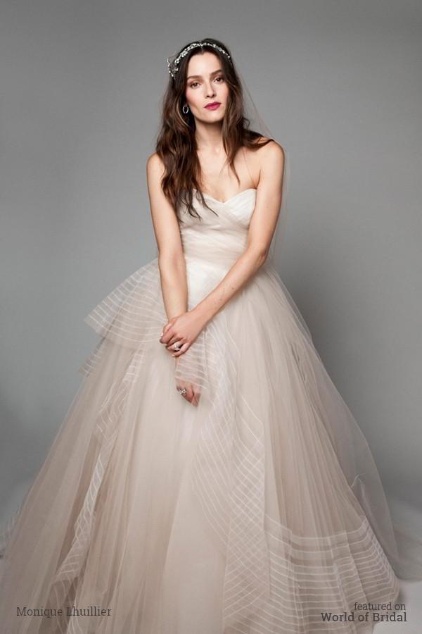 Hochzeit - Bliss by Monique Lhuillier Fall 2015 Wedding Dresses