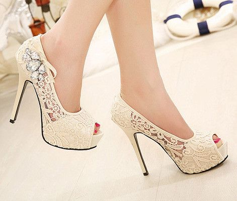 Wedding - Diamond Sexy High Heels SC728DC
