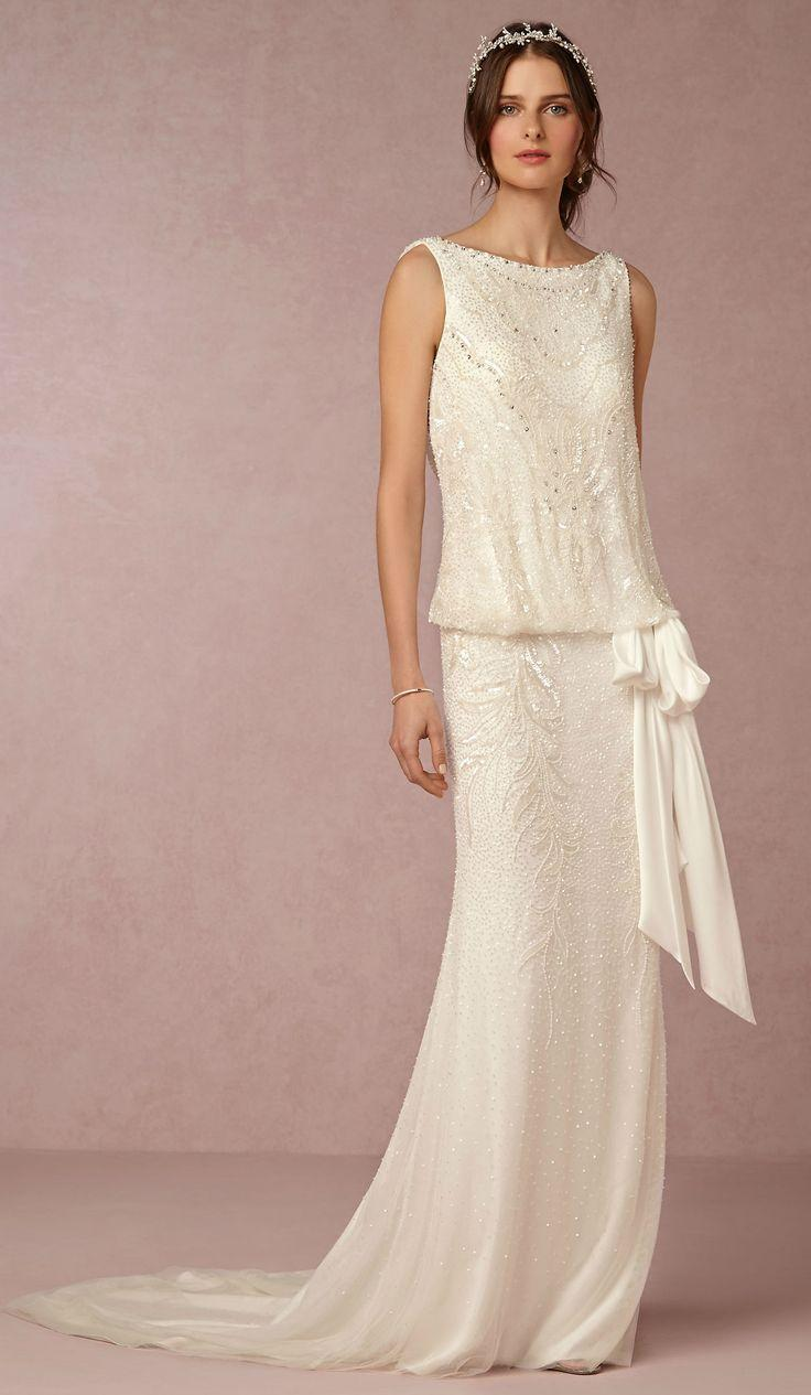 New wedding dresses from bhldn for fall 2015 2394419 for Art deco wedding dresses
