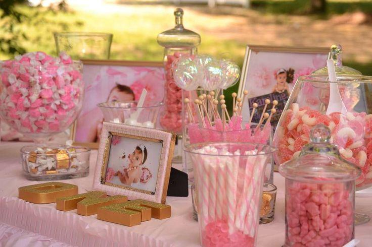 Hochzeits Thema Pink And Gold Birthday Party Ideas 2394503 Weddbook