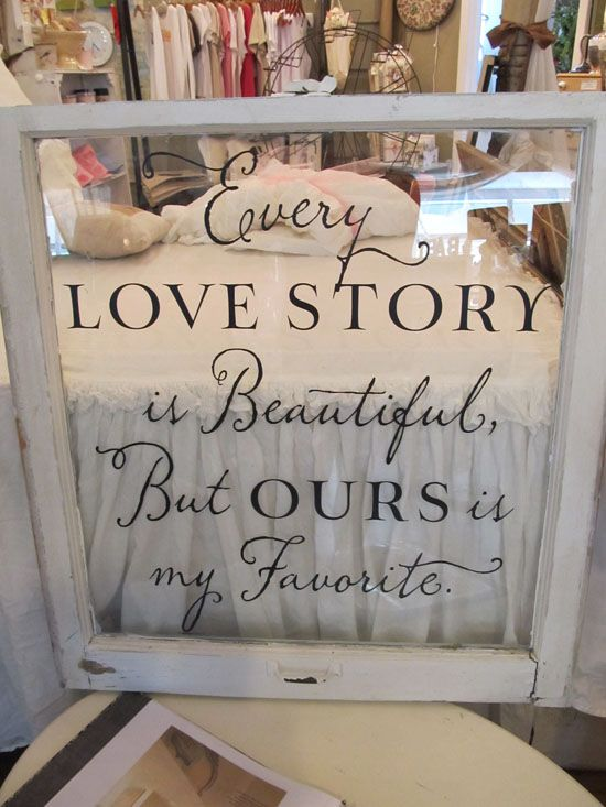 Wedding sign decal vinyl lettering for sign every love story is beautiful