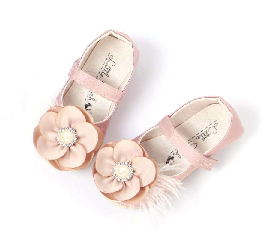 toddler shoes baby girl shoes blush baby shoes nude wedding shoes flower girl shoes champagne shoes soft sole shoe girls shoes kids shoes