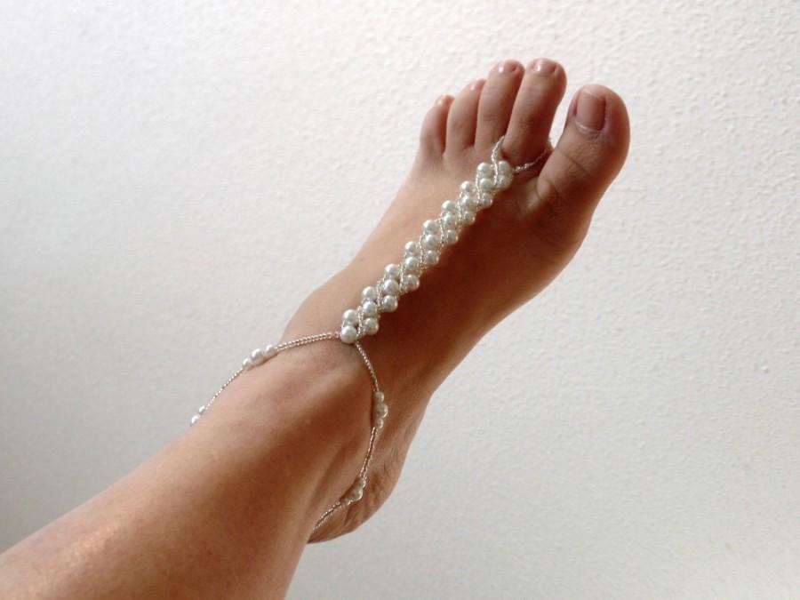 Soleless Wedding Shoes