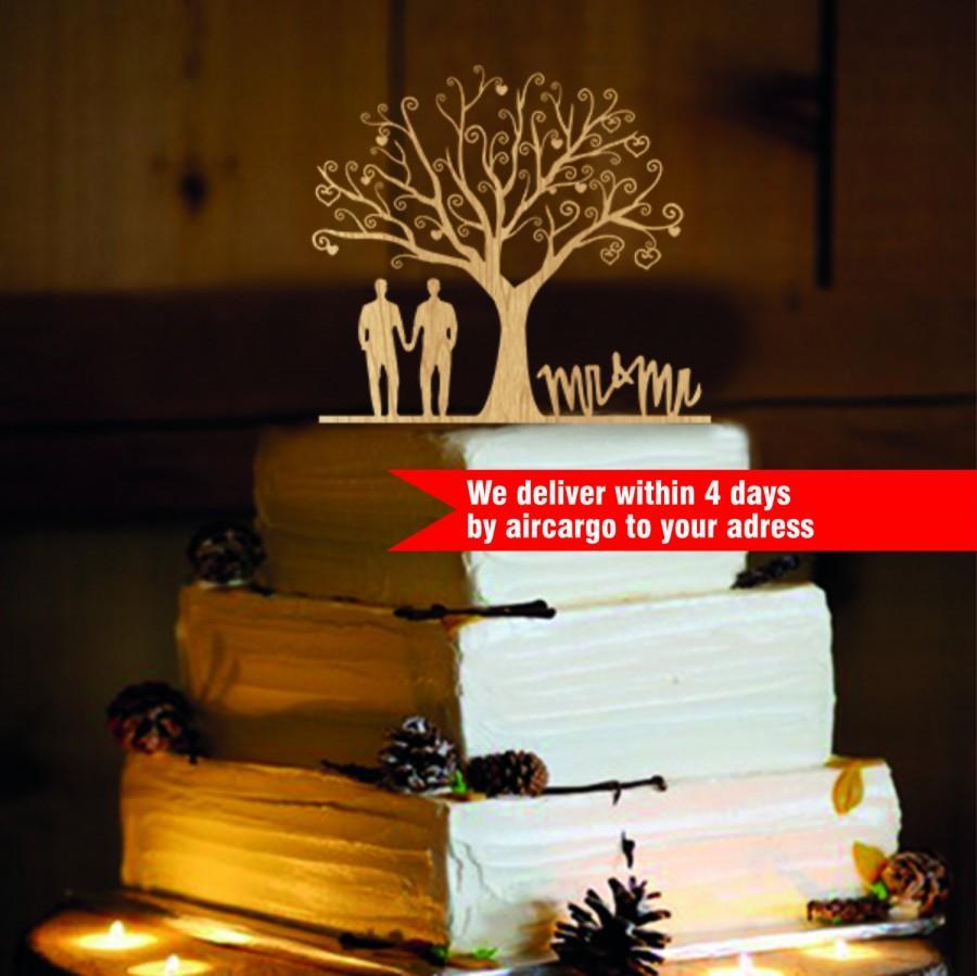 Boda - Gay Men Wedding Cake Topper