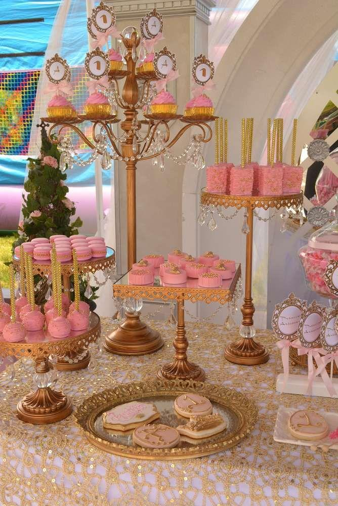 Princess Theme Decoration Ideas Part - 44: Princess Theme Birthday Party Ideas