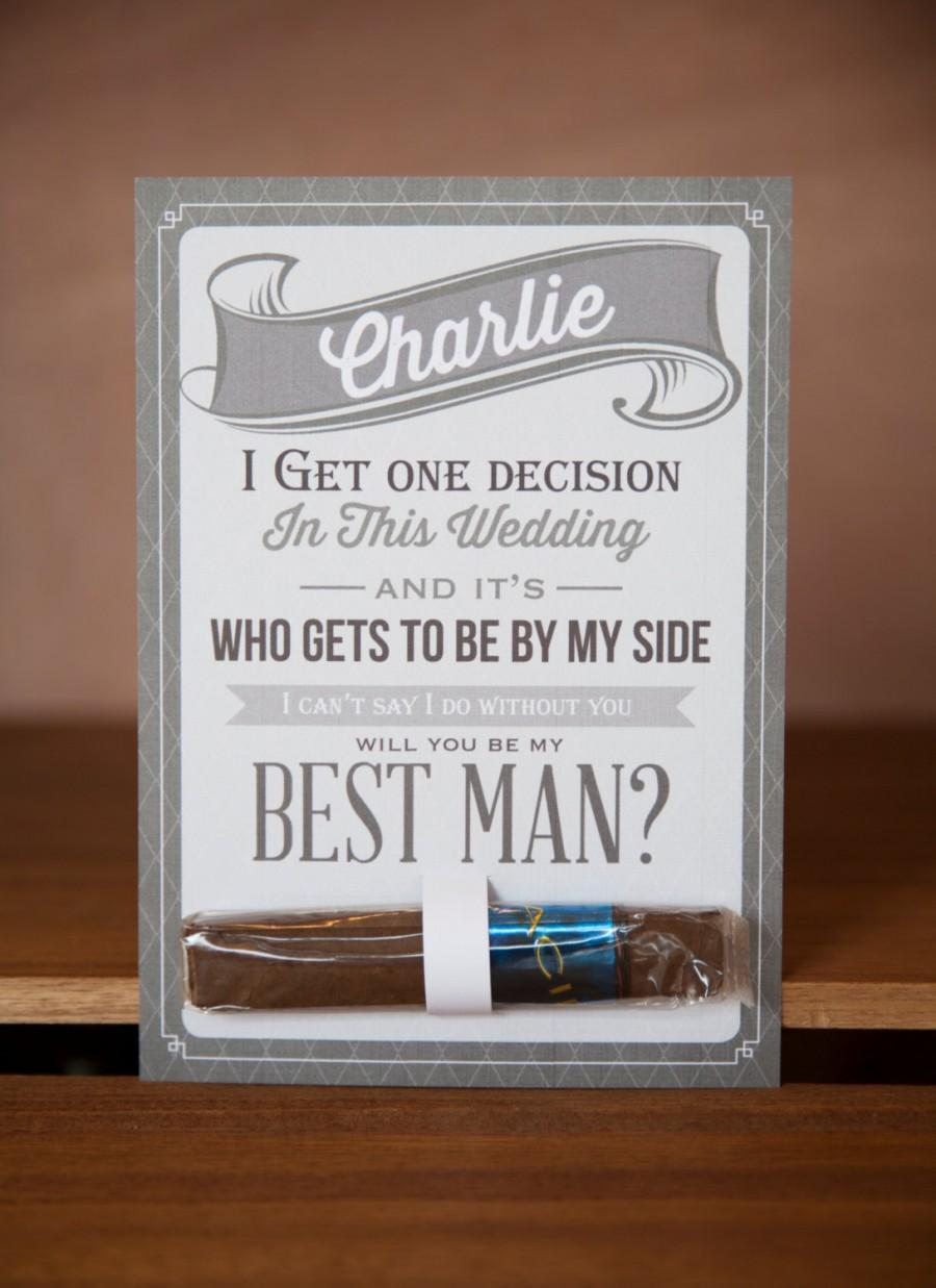 Mariage - Will You Be My Groomsman?