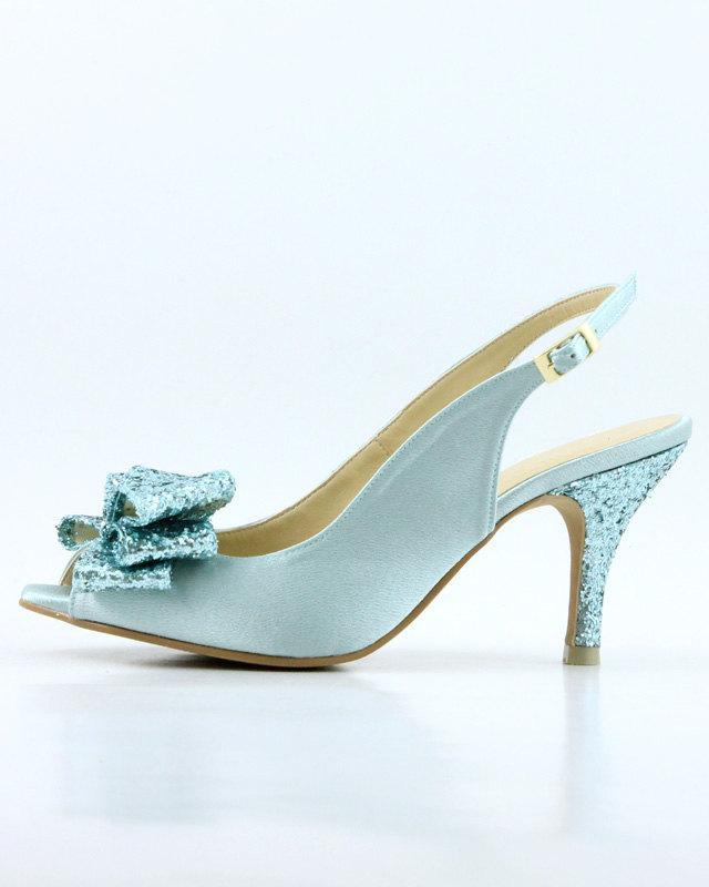 6ba46abc1b8 Something Blue Wedding Shoes