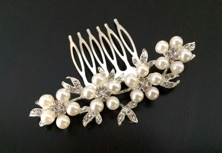 زفاف - bridal comb,wedding comb hair accessory,wedding hair comb,pearl bridal comb,wedding hair accessories,bridal hair piece,wedding headpiece