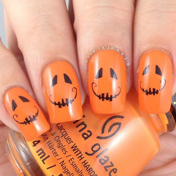 زفاف - 31 Days Of Halloween Nail Art
