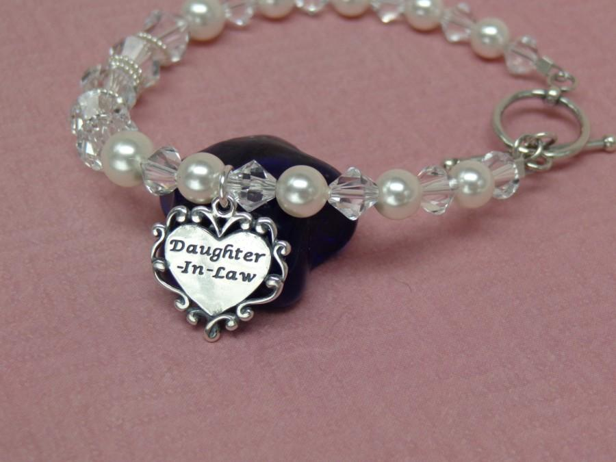 Future Daughter In Law Wedding Gift Bracelet Welcome To The Family ...