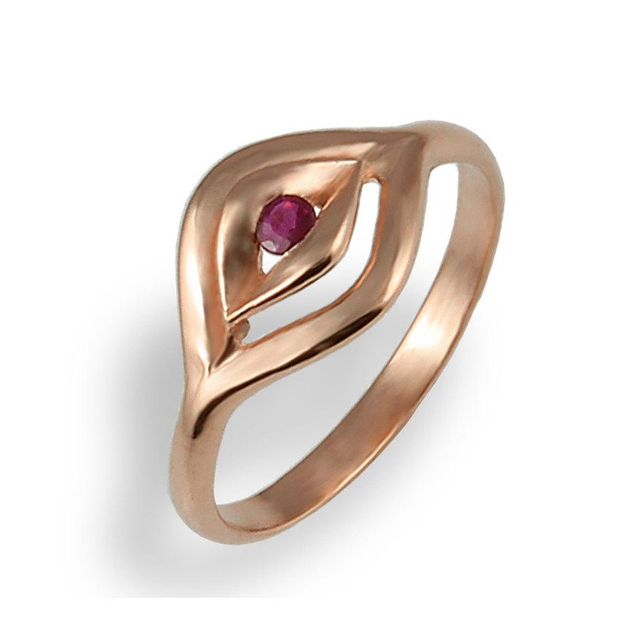 Rose Gold Ring , Ruby Ring , Love Ring , Gift Ring , For Her , For ...