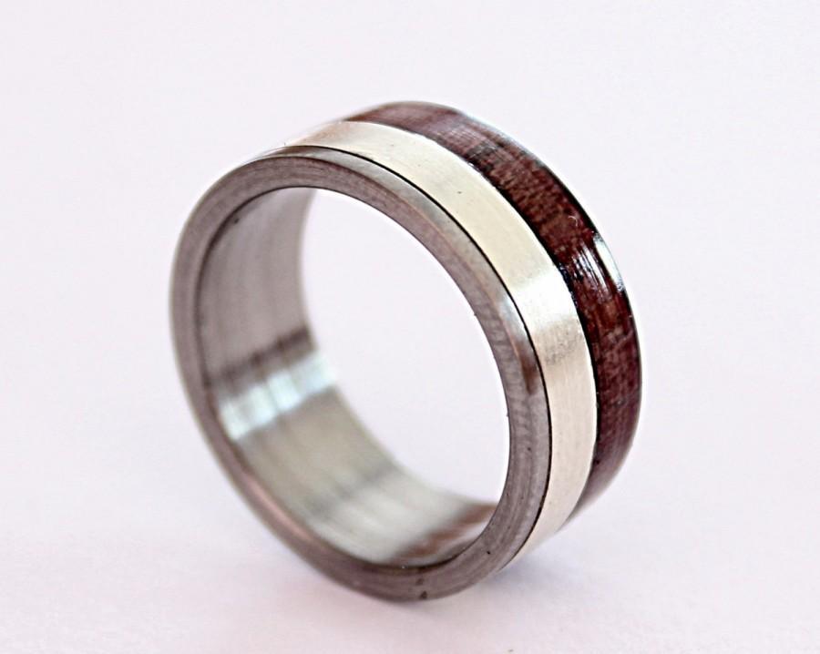 titanium ring s titanium wedding band 925 silver