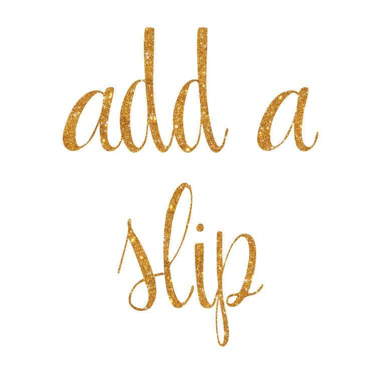 Wedding - Add a Strapless Slip to your Tutu Dress