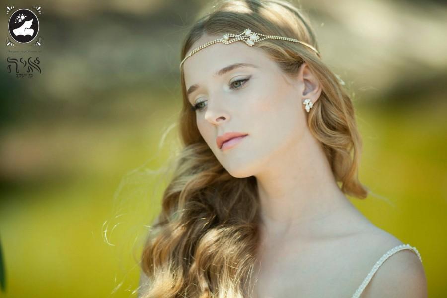Hochzeit - wedding headband, bridal headbands, Swarovski Crystal Headband, bride headbands , bridal hair accessories