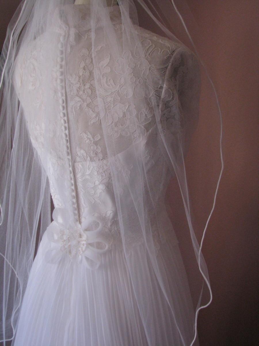 Свадьба - Flirty Veil One Tier Layer Wedding Veil