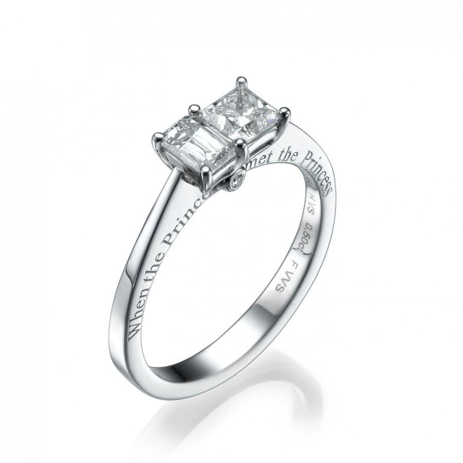 unique engagement ring the original prince princess