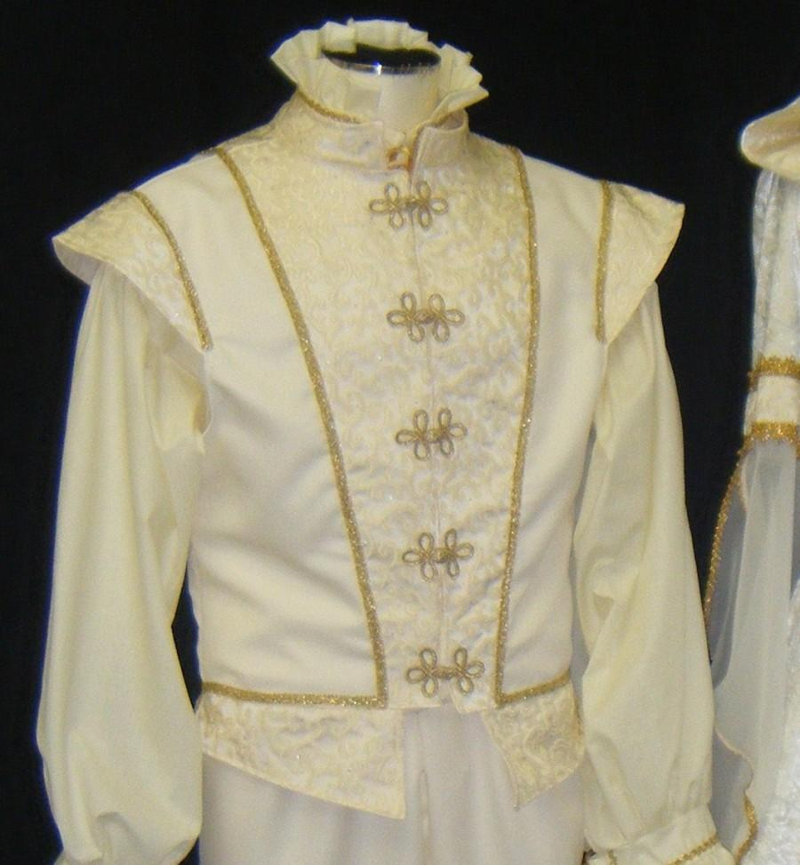 Mens Doublet, Groom Set, Gents Renaissance Garb ...