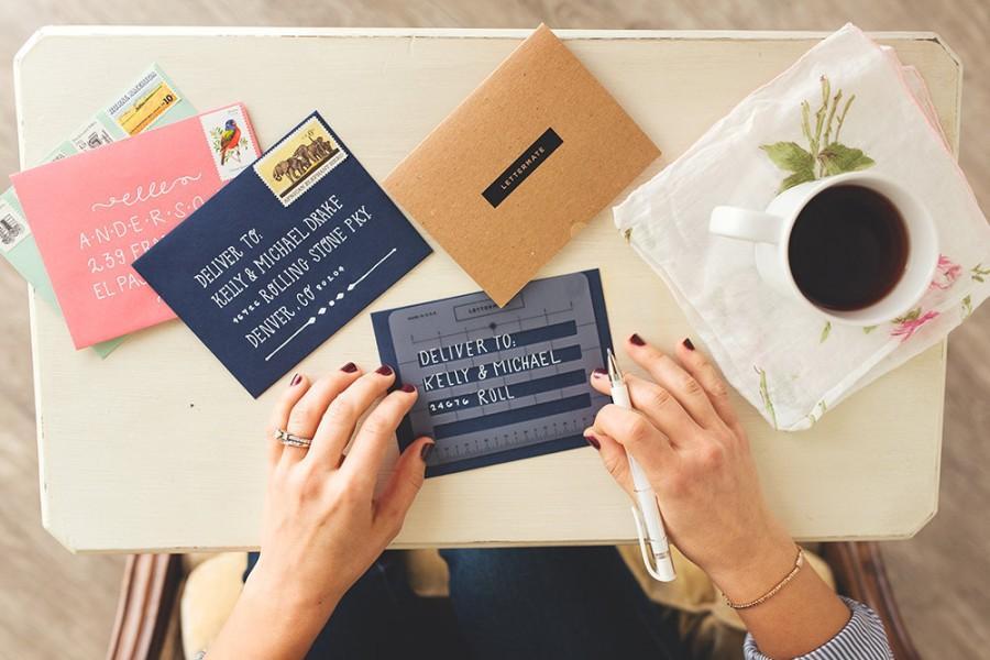 Mariage - The Lettermate // Handbook & Faux Envelopes