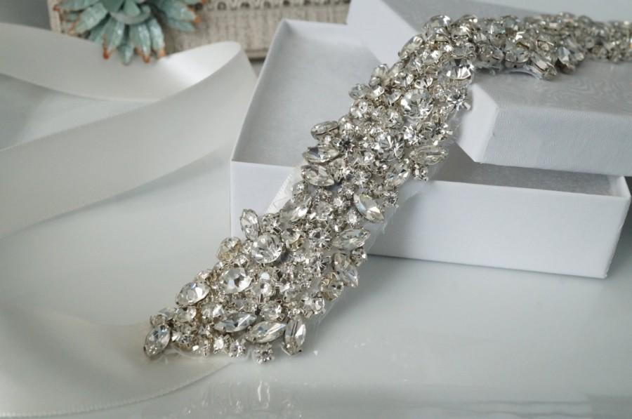 headband bridal headband crystal ribbon headband 2396873 weddbook