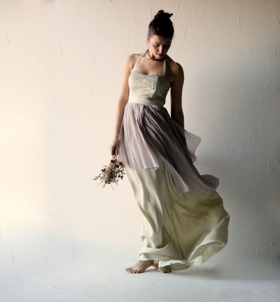 Alternative Wedding Dresses : Dress bridal gown lavender wedding alternative