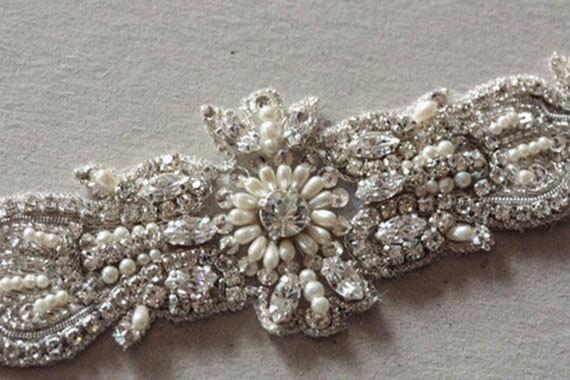 Свадьба - Wedding headpiece Art Deco-2 (Made to Order)