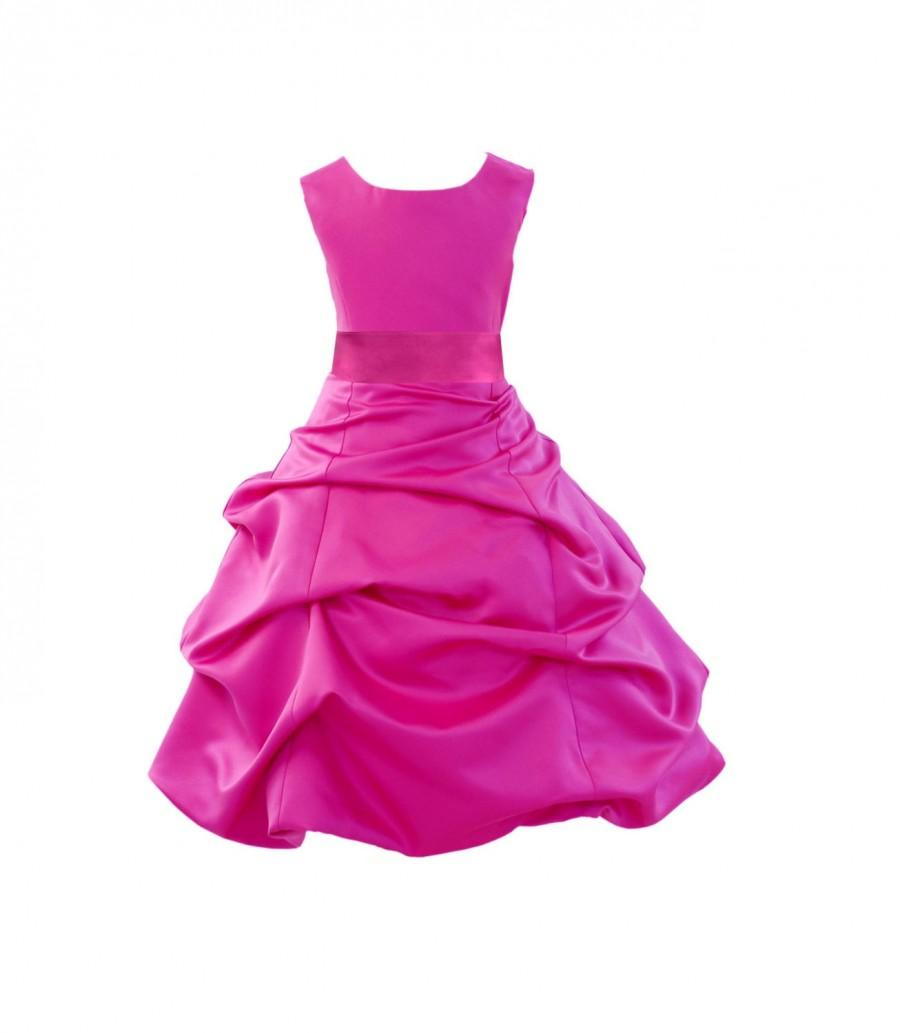 Fuchsia Flower Girl Dresses Fashion Dresses