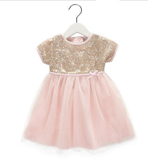a37867cf7 Blush Pink & Gold Sequin Dress / Blush Pink Tulle Flower Girl Dress / Flower  Girl Dress / Jr. Bridesmaid Dress / Sequin Birthday Dress /