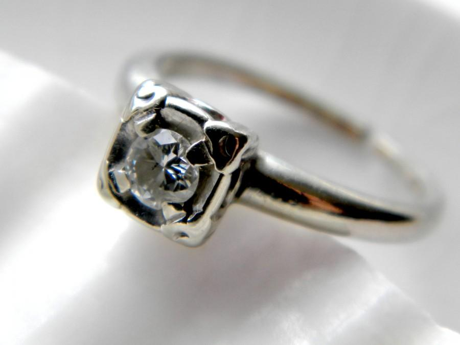 SALE See Shop Announcement For Code Art Deco 14k White Gold