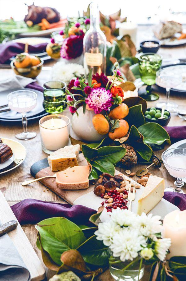 Hochzeit - 3 Things We Love About This Gorgeous Thanksgiving Table