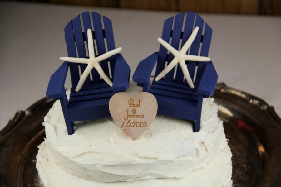 Starfish Cake Topper Starfish Wedding Beach Cake Chair Cake