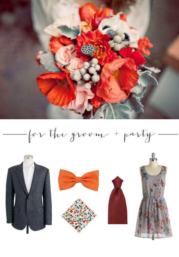 Wedding - Halloween   Fall Looks For Grooms With Bows 'n Ties