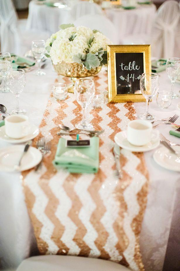 Mariage - Mint And Gold Wedding