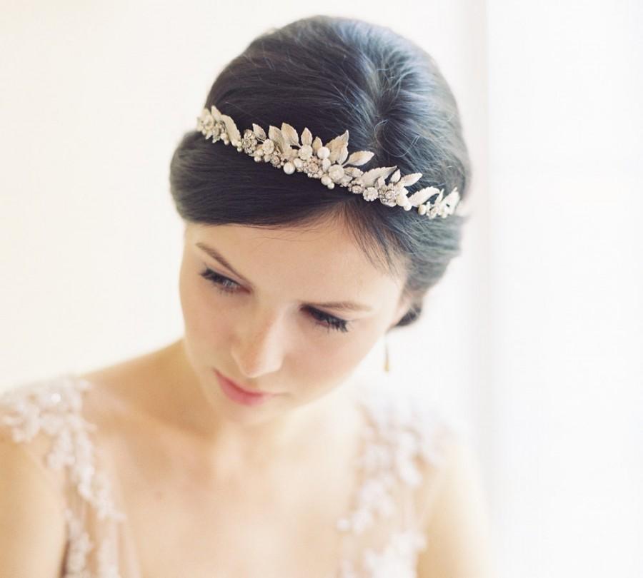 Свадьба - Wedding crown tiara, bridal headpiece, hair accessory, Roman crown -Cornelia no. 2032