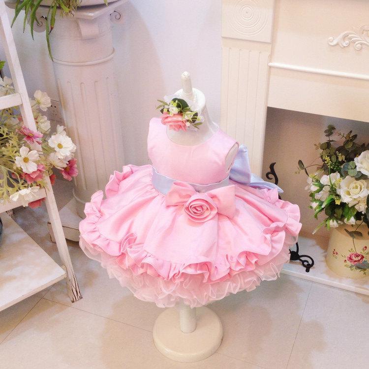 Wedding - HOT!! Toddler/Infant/Baby/Newborn Thanksgiving Dress Toddler, Baby Christmas Dress, Glitz Pageant Dress, Baby Girl Birthday Dress, PD056-1