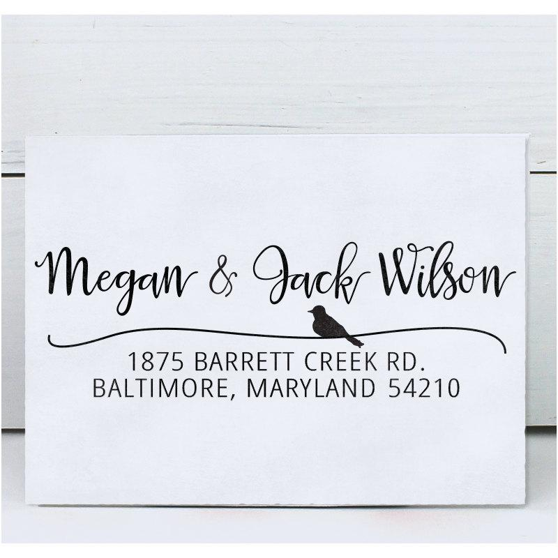 Custom Address Stamp Calligraphy Stamp Return Address