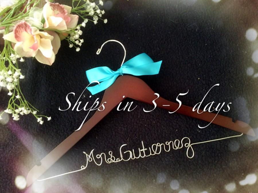 grand opening l personalized bridal hanger customized hanger