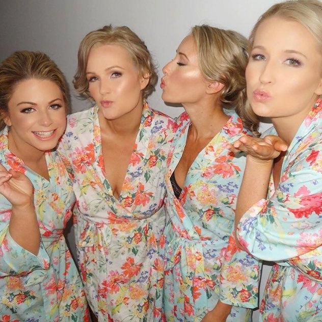 Свадьба - Bridesmaid Floral Robes