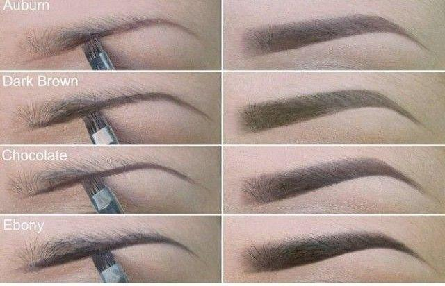 Свадьба - Choose The Right Eyebrow Color