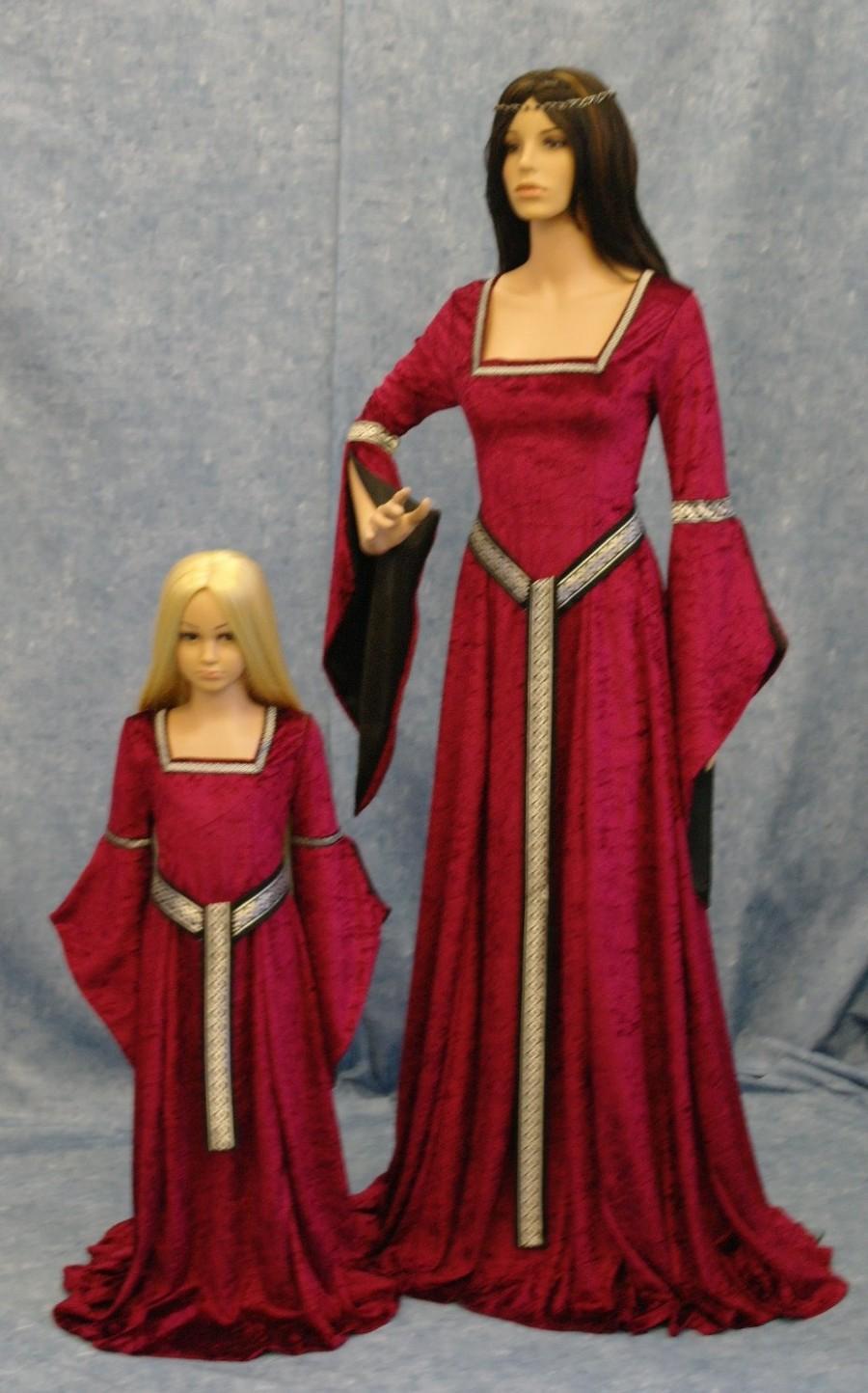 Elven Dress Meval Renaissance Girdle Belt Fairy Gothic Custom Made