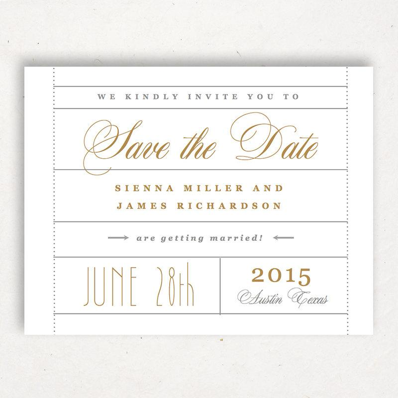 Einladung printable save the date template 2399491 for Ticket template for mac