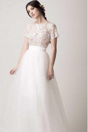 Hochzeit - 36 Ultra-Glamorous Two-Piece Wedding Dresses