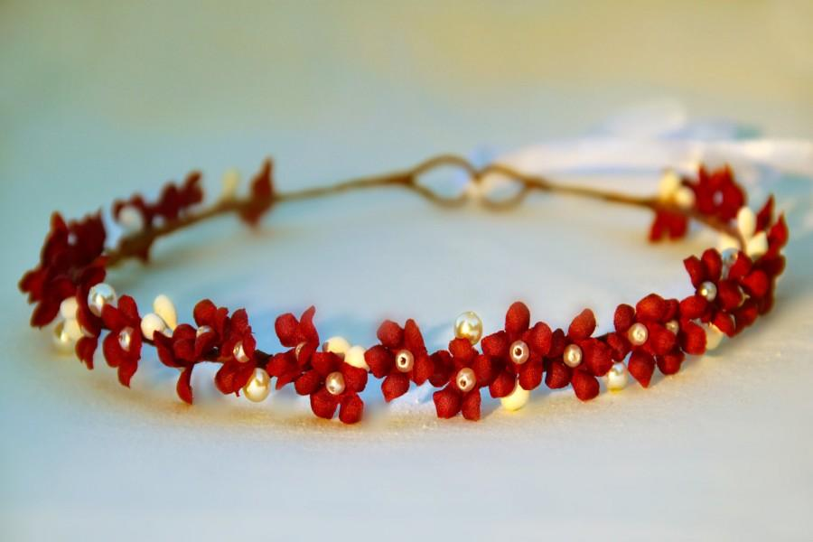 Christmas Flower Crown ac312fb7b93
