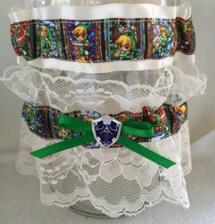 Mariage - Legend of Zelda Wedding Garter Geek Nerd Link