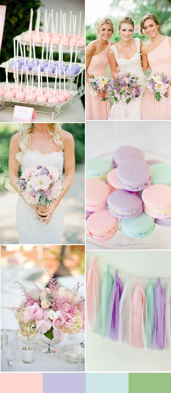 Wedding - 2016 Spring Wedding Color Trends Chapter One : Seven Pink Themed Wedding Ideas
